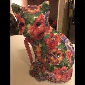 🍁Floral kitty statue lightweight not heavy